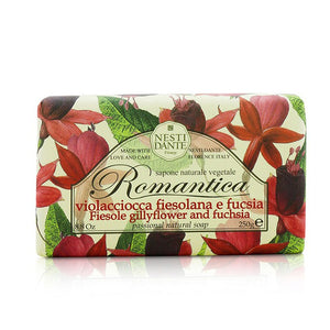 Romantica Passional Natural Soap Fiesole Gillyflower & Fuchsia 208664