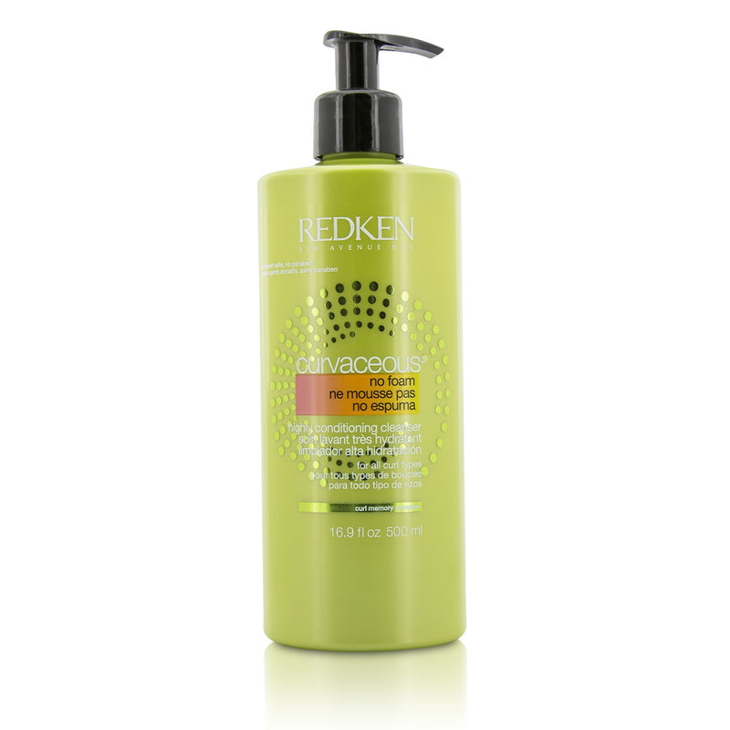 Curvaceous No Foam Highly Conditioning Cleanser (For All Curls Types) 208700