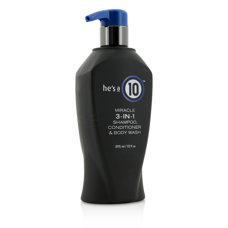 He's A 10 Miracle 3 In 1 Shampoo, Conditioner & Body Wash 209471