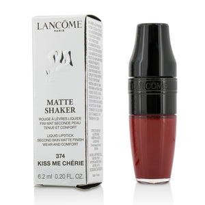 Load image into Gallery viewer, Matte Shaker Liquid Lipstick # 374 Kiss Me Cherie 210895