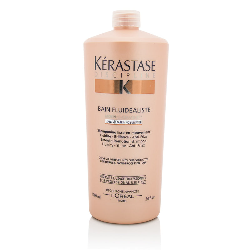 Discipline Bain Fluidealiste Smooth In Motion Sulfate Free Shampoo For Unruly, Over Processed Hair 211126