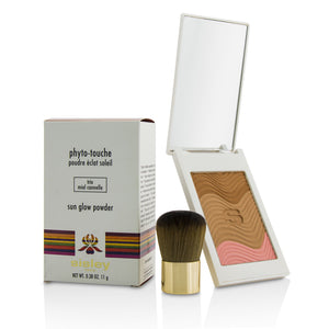 Phyto Touche Sun Glow Powder With Brush   # Trio Miel Cannelle