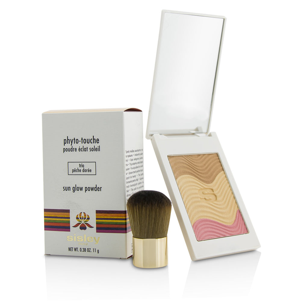 Load image into Gallery viewer, Phyto Touche Sun Glow Powder With Brush   # Trio Peche Doree