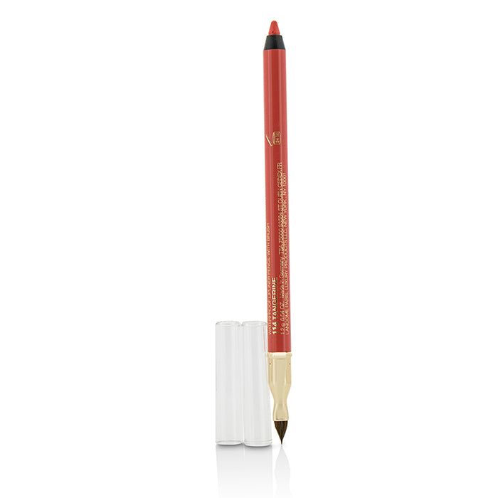 Le Lip Liner Waterproof Lip Pencil With Brush   #114 Tangerine