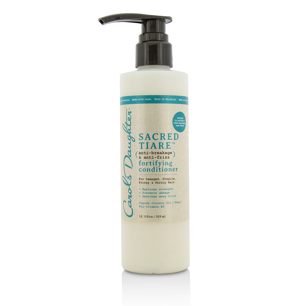 Sacred Tiare Anti Breakage & Anti Frizz Fortifying Conditioner (For Damaged, Fragile, Frizzy & Unruly Hair) 211340
