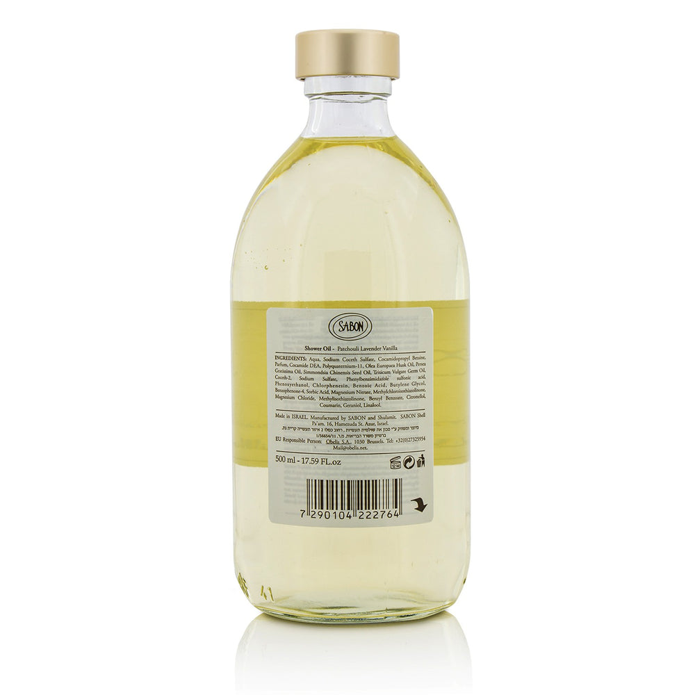 Shower Oil Patchouli Lanvender Vanilla 211469