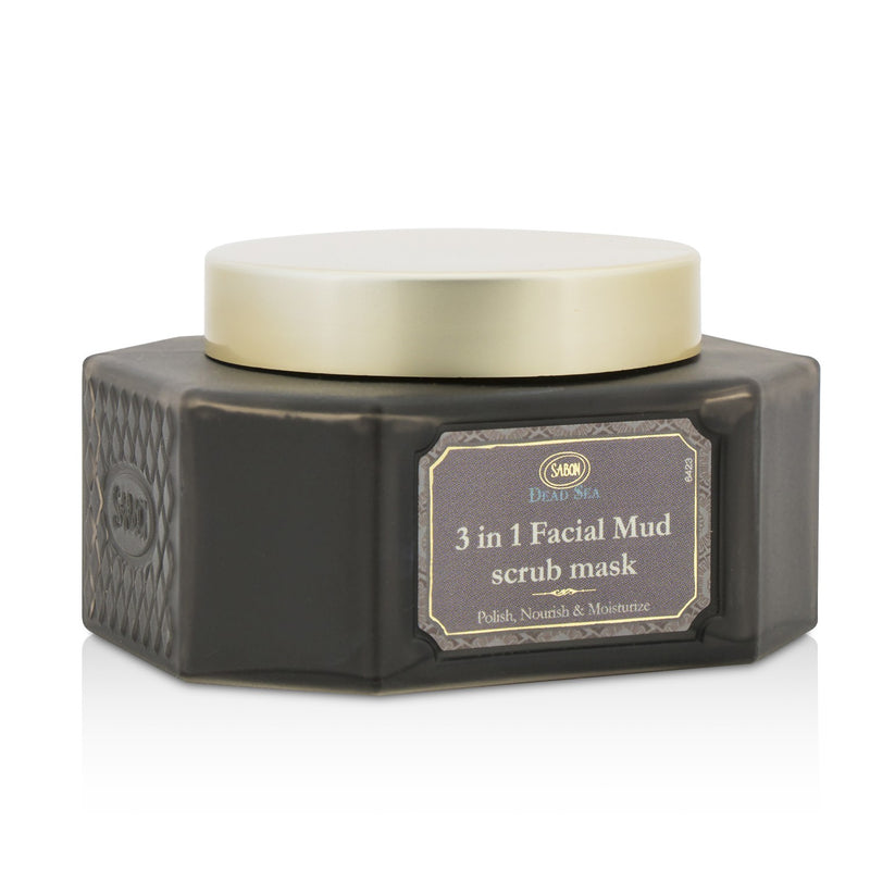 Dead Sea 3 In 1 Facial Mud Scrub Mask 211505
