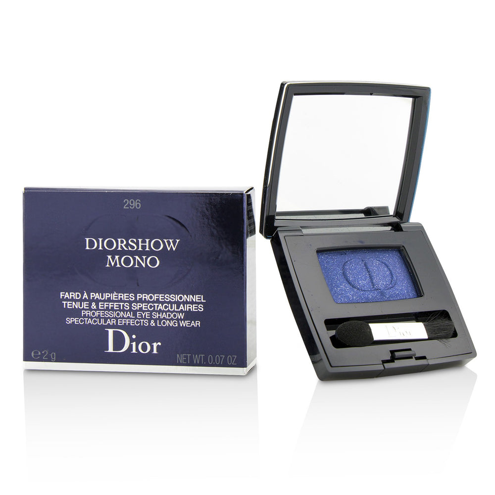 Diorshow Mono Professional Spectacular Effects & Long Wear Eyeshadow   # 296 Show