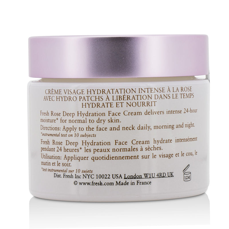 Rose Deep Hydration Face Cream Normal To Dry Skin Types 212044