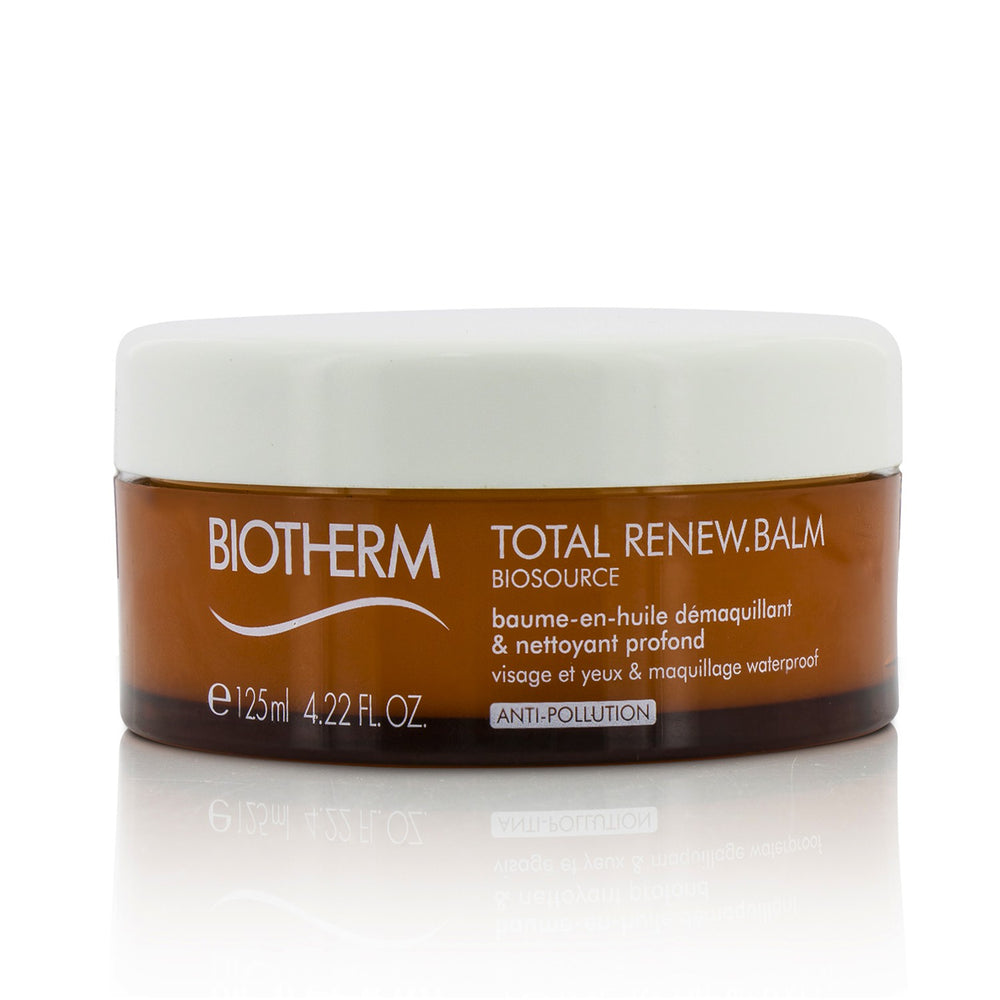 Biosource Total Renew Balm Balm To Oil Deep Cleanser For Face & Eyes & Waterproof Make Up 212048