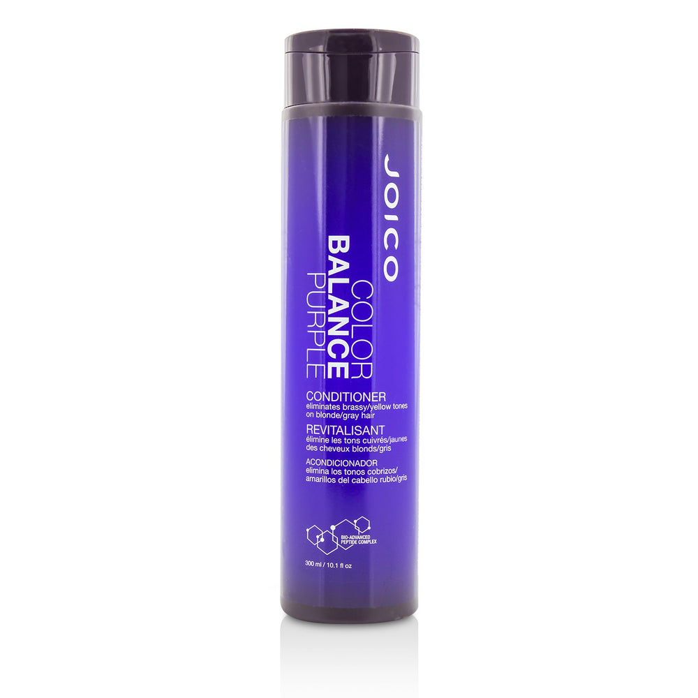 Color Balance Purple Conditioner (Eliminates Brassy/Yellow Tones On Blonde/Gray Hair) 212652