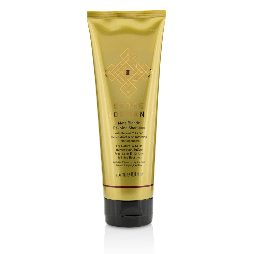 Meta Blonde Reviving Shampoo (For Natural & Color Treated Hair, Sulfate Free, Color Enhancing & Shine Boosting) 212996