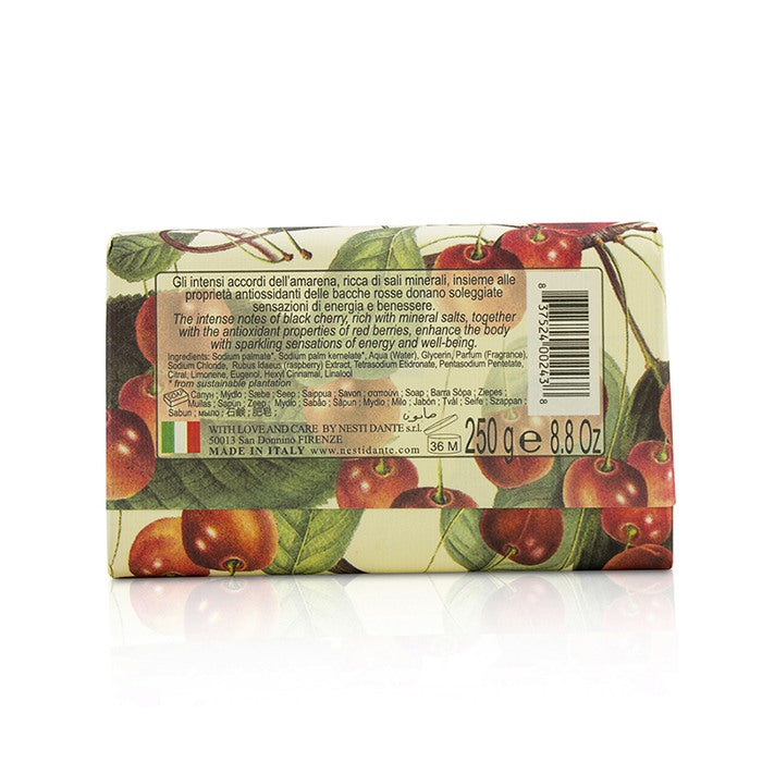 Il Frutteto Antioxidant Soap   Black Cherry & Red Berries