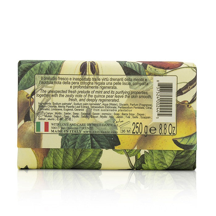 Il Frutteto Purifying Soap Mint & Quince Pear 213119