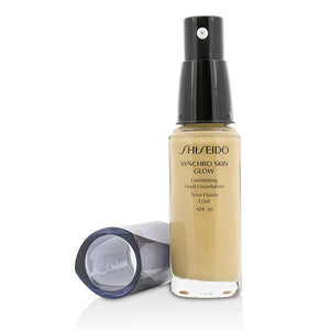 Load image into Gallery viewer, Synchro Skin Glow Luminizing Fluid Foundation Spf 20 # Golden 3 213147