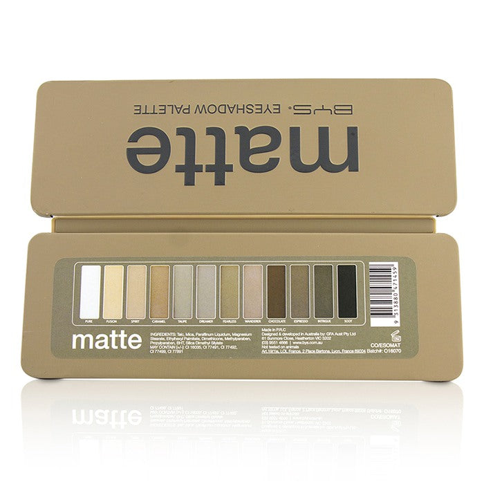Eyeshadow Palette (12x Eyeshadow, 2x Applicator) Matte 213446