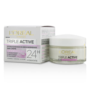 Triple Active Multi Protective Day Cream 24 H Hydration For Dry/ Sensitive Skin 213614