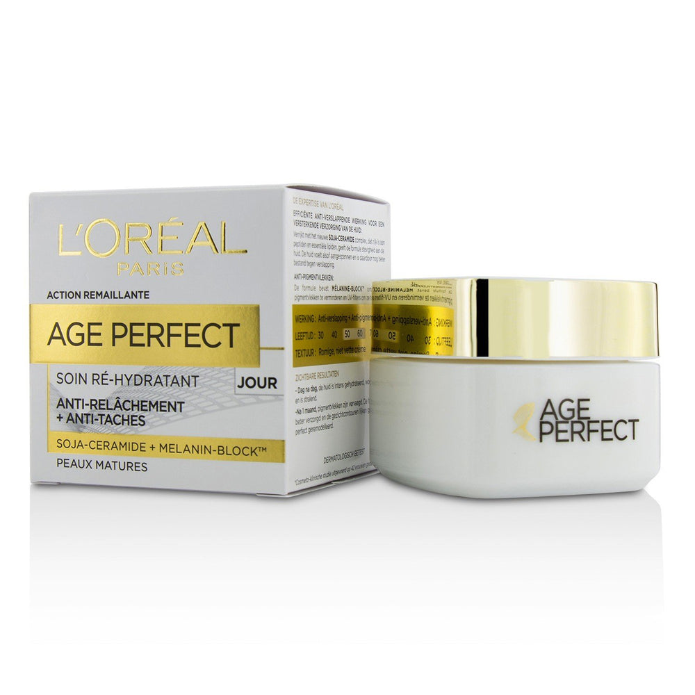 Age Perfect Re Hydrating Day Cream   For Mature Skin