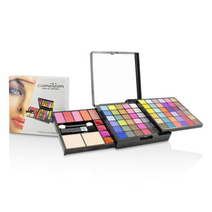 Make Up Kit Deluxe G2363 (66x Eyeshadow, 5x Blusher, 2x Pressed Powder, 4x Lipgloss, 3x Applicator) 214051