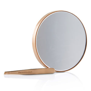 Load image into Gallery viewer, Rose Gold Mini Slant Tweezer And 10 X Mirror 214097