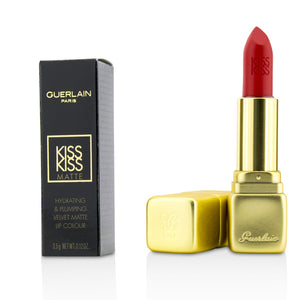 Load image into Gallery viewer, Kiss Kiss Matte Hydrating Matte Lip Colour # M331 Chilli Red 214930