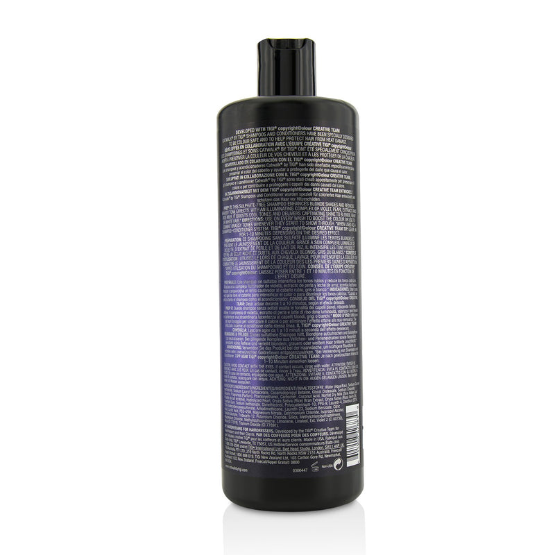Catwalk Fashionista Violet Shampoo (For Blondes And Highlights) 215227