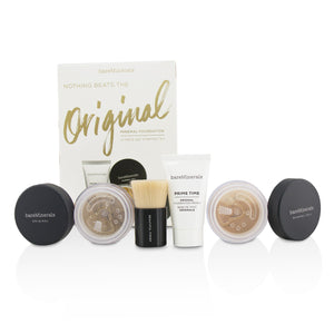 Load image into Gallery viewer, Get Started Mineral Foundation Kit   # 18 Medium Tan