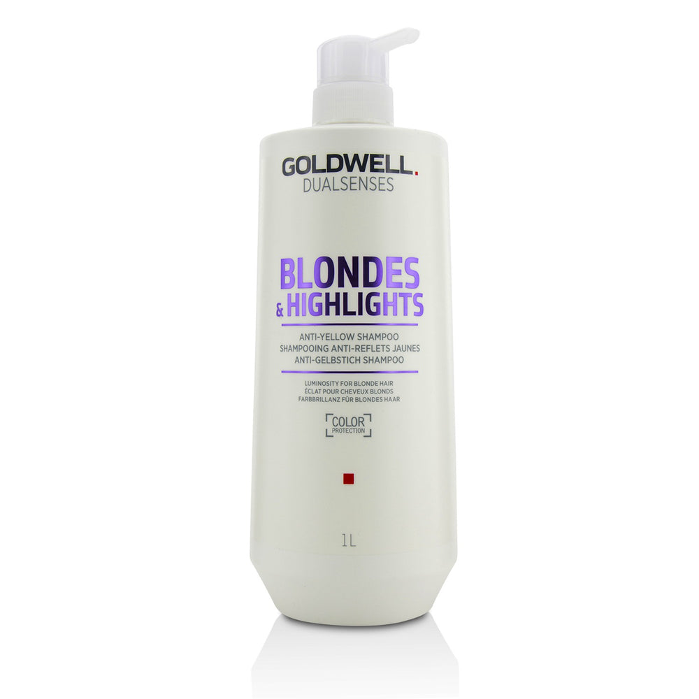 Dual Senses Blondes & Highlights Anti Yellow Shampoo (Luminosity For Blonde Hair)