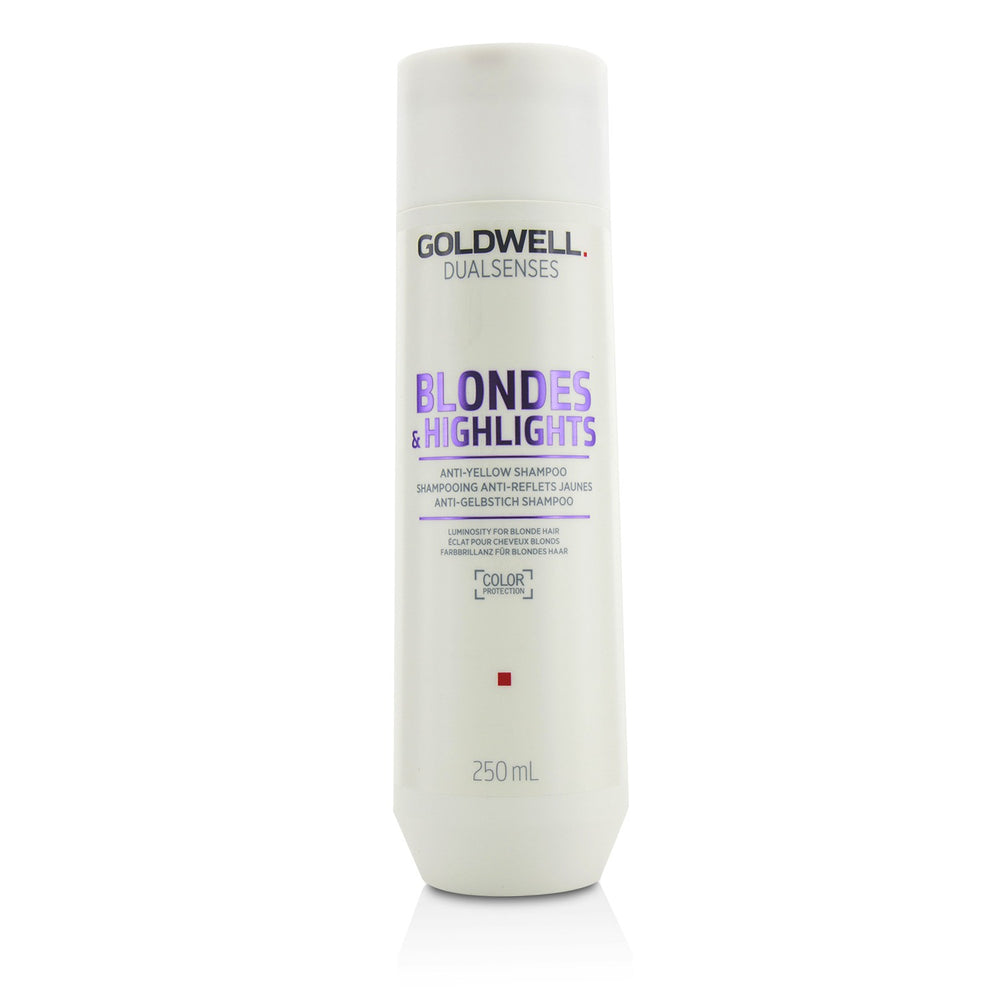 Dual Senses Blondes & Highlights Anti Yellow Shampoo (Luminosity For Blonde Hair) 215432