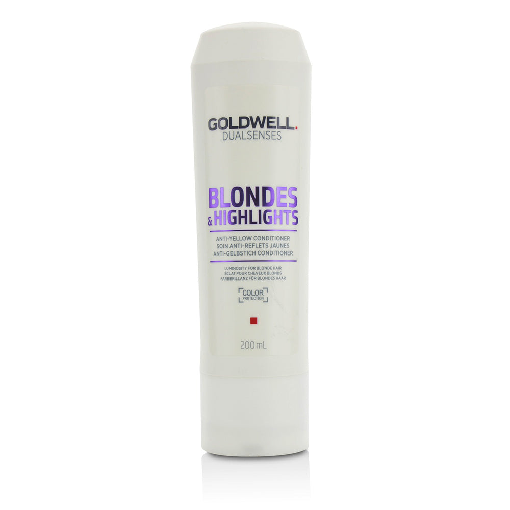 Dual Senses Blondes & Highlights Anti Yellow Conditioner (Luminosity For Blonde Hair) 215433