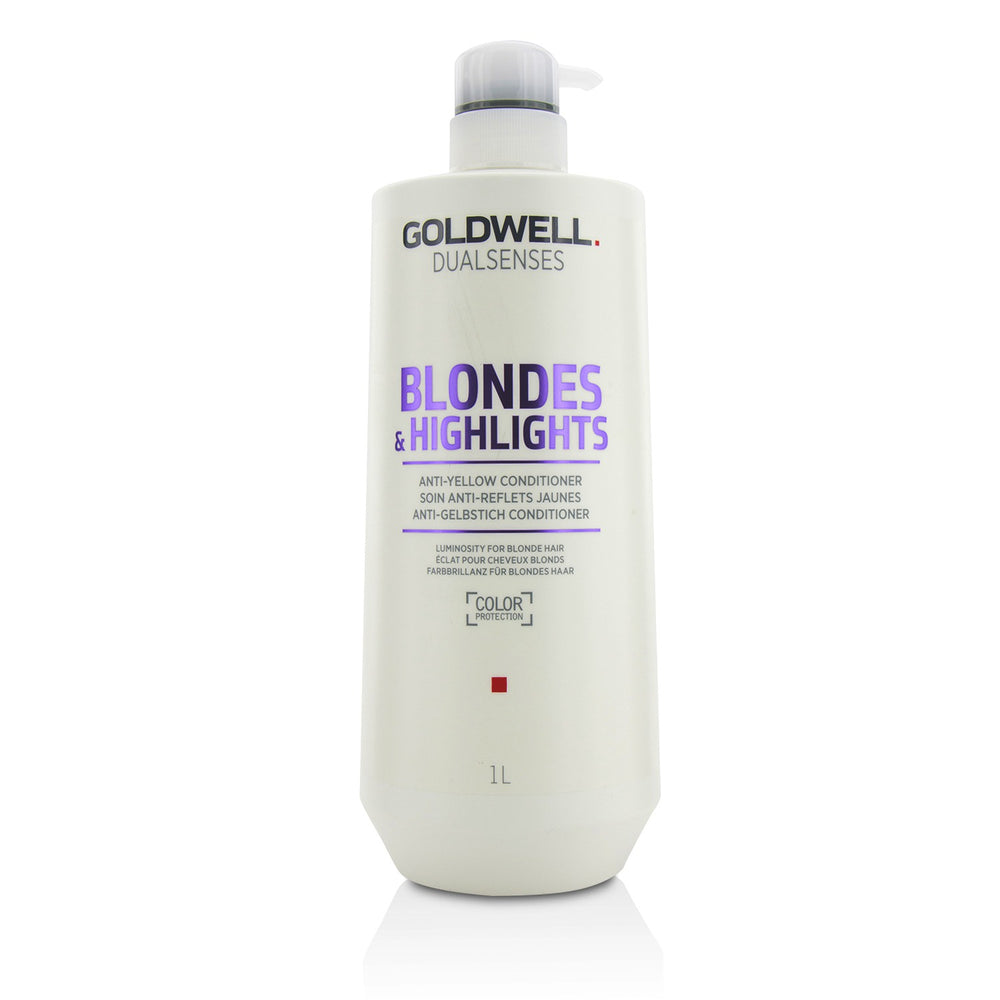 Dual Senses Blondes & Highlights Anti Yellow Conditioner (Luminosity For Blonde Hair)