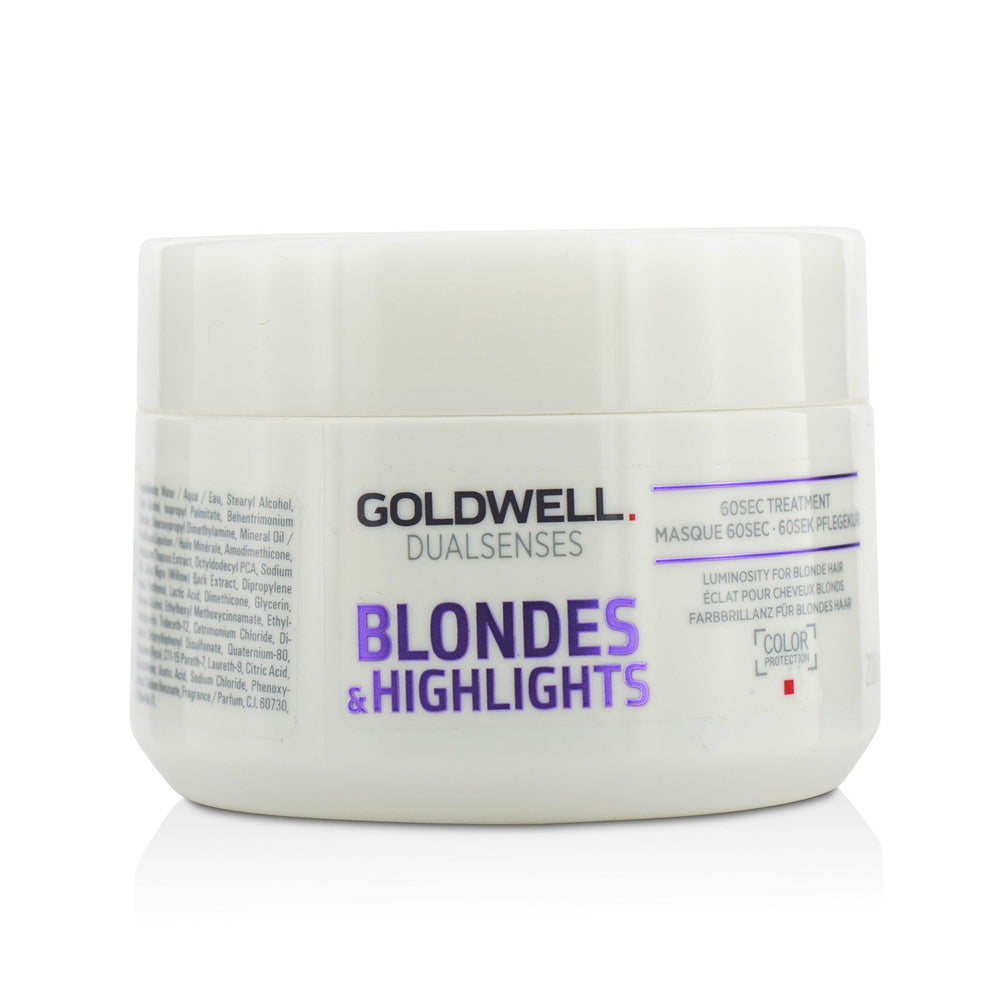 Dual Senses Blondes & Highlights 60 Sec Treatment (Luminosity For Blonde Hair)