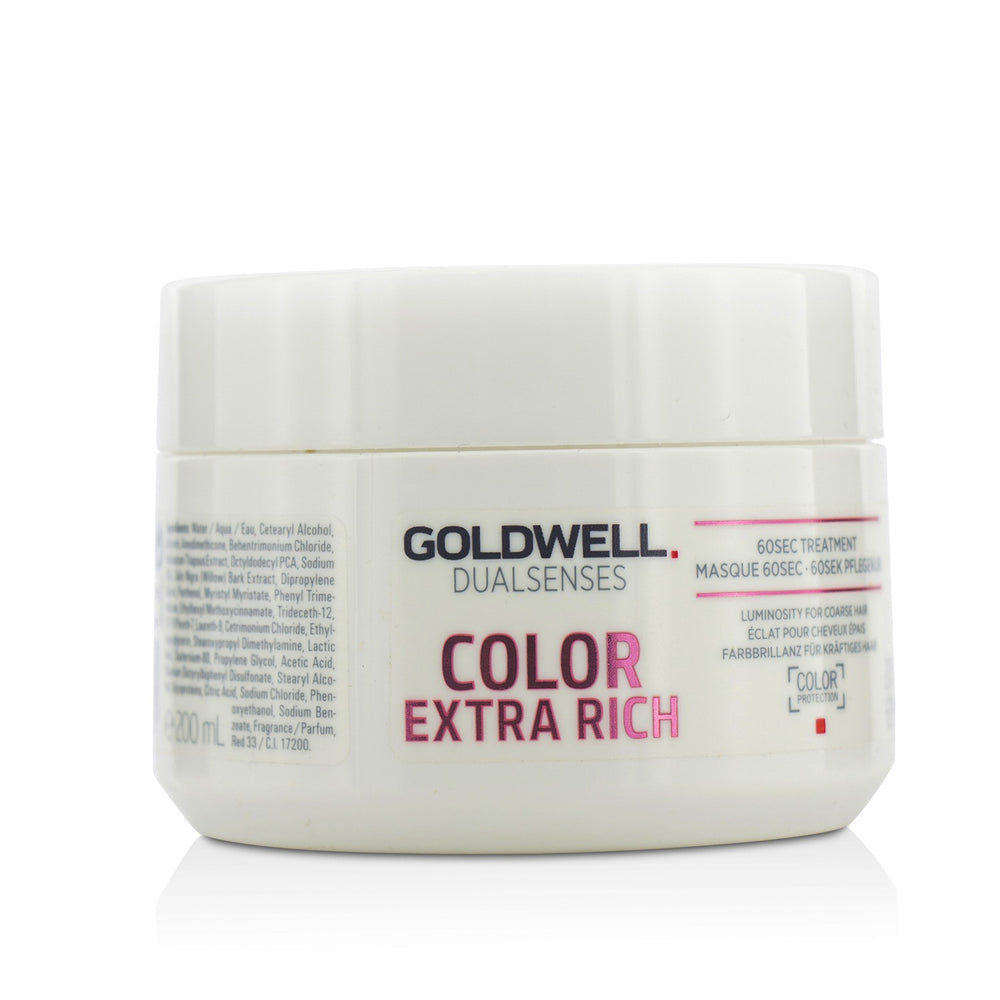 Dual Senses Color Extra Rich 60 Sec Treatment (Luminosity For Coarse Hair)
