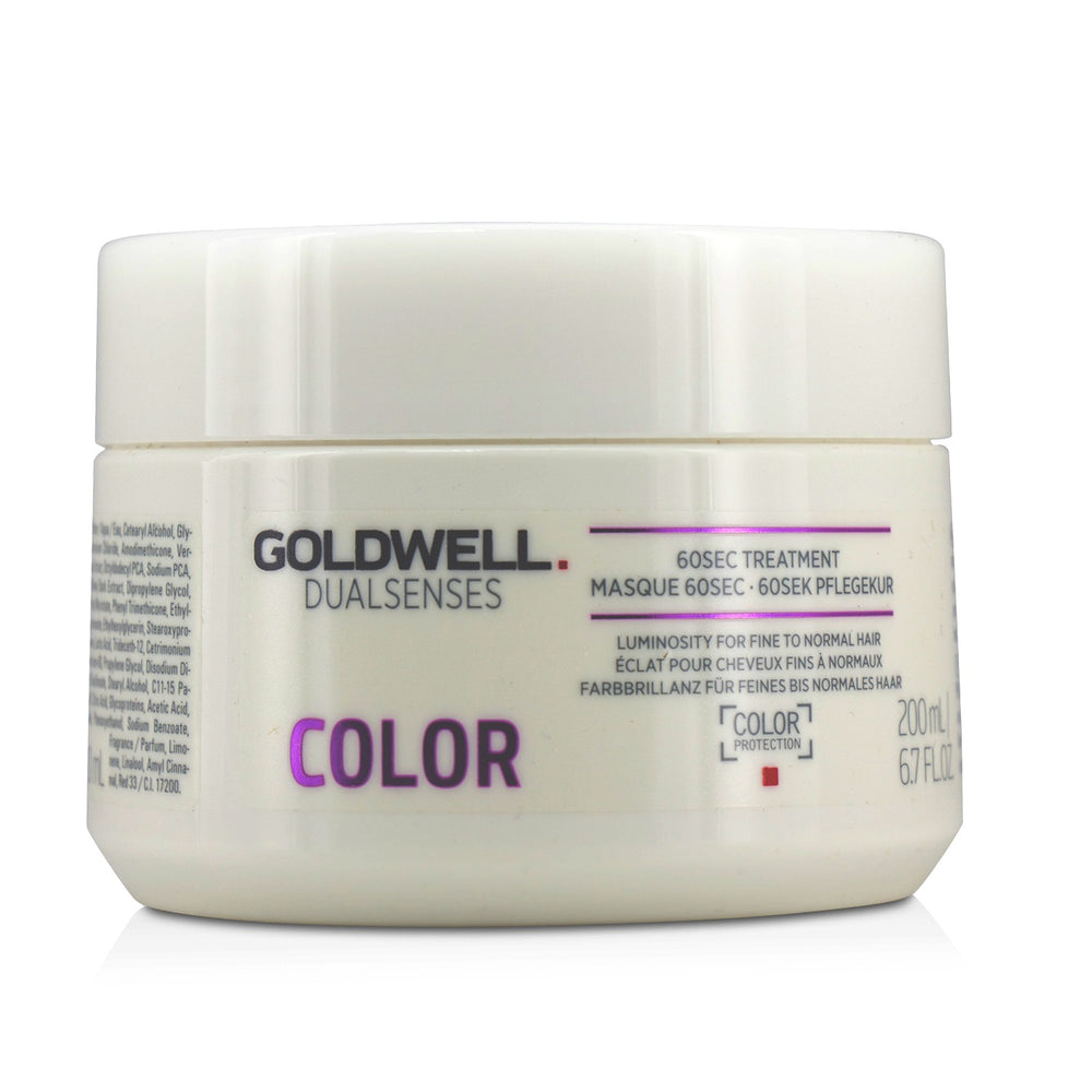 Dual Senses Color 60 Sec Treatment (Luminosity For Fine To Normal Hair)