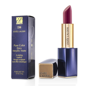 Load image into Gallery viewer, Pure Color Envy Metallic Matte Sculpting Lipstick # 230 Crush It 216362