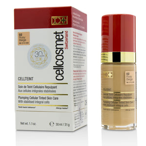 Cellcosmet Cell Teint Plumping Cellular Tinted Skincare   #02 Rosy Beige