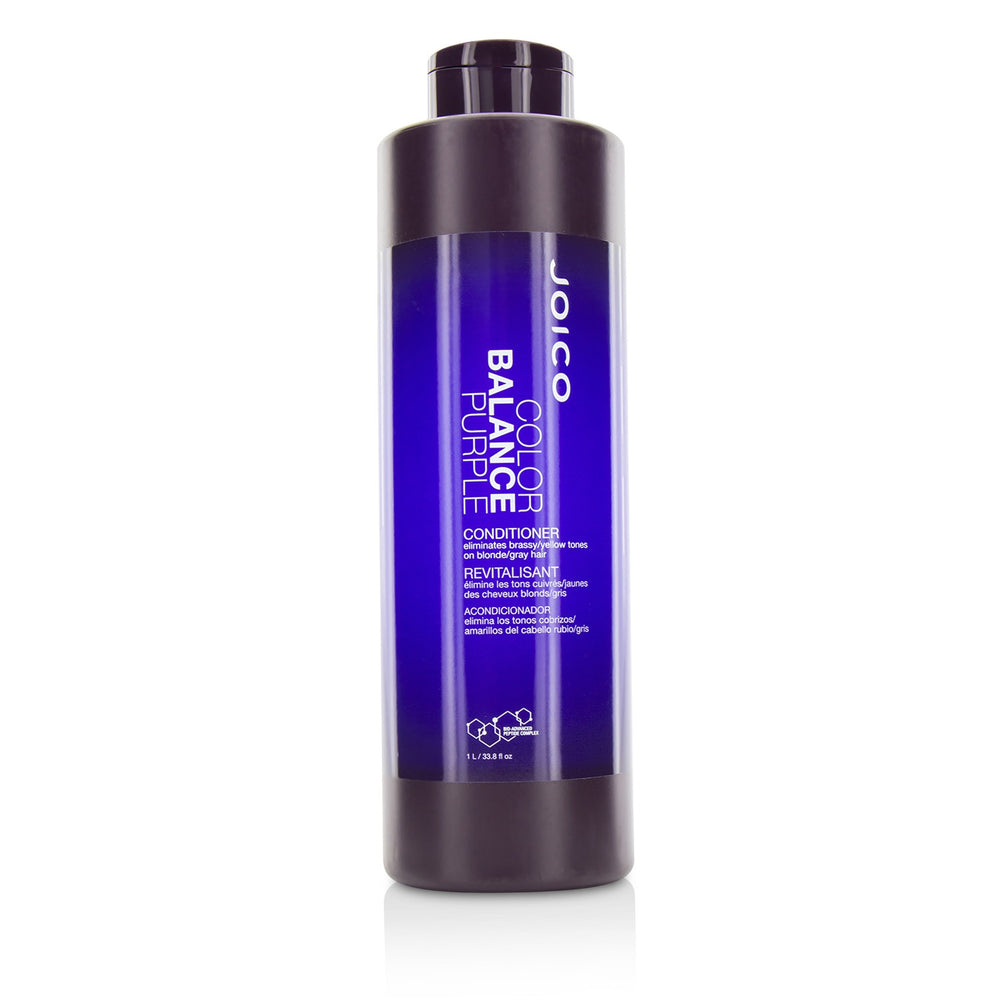 Color Balance Purple Conditioner (Eliminates Brassy/Yellow Tones On Blonde/Gray Hair) 217703