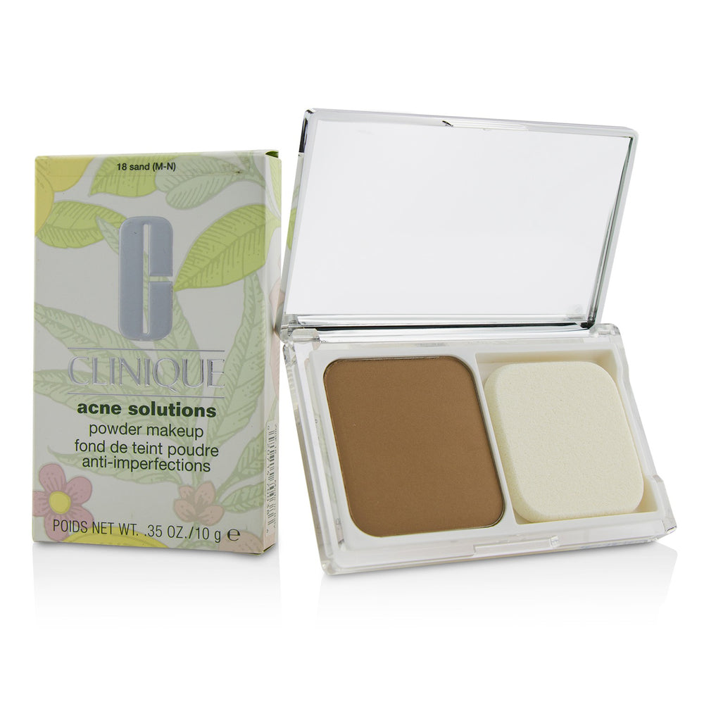 Acne Solutions Powder Makeup   # 18 Sand (M N)