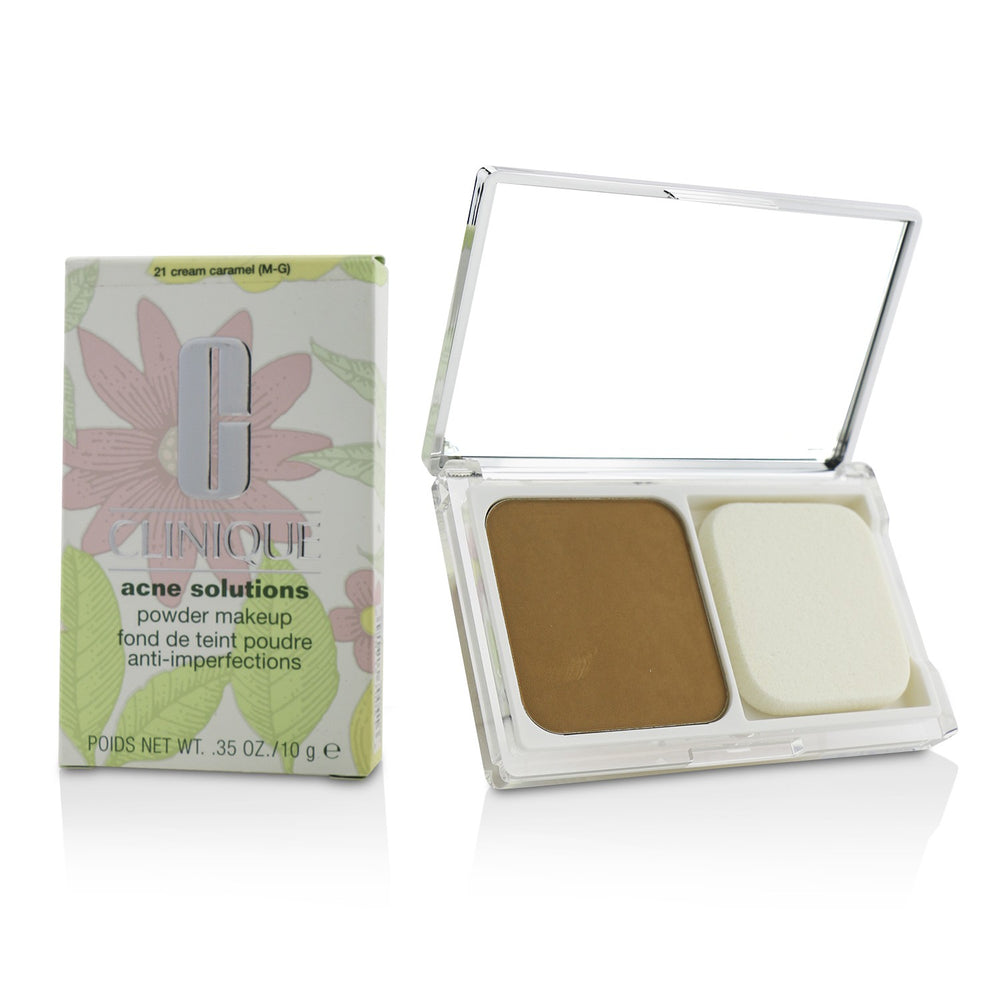 Acne Solutions Powder Makeup   # 21 Cream Caramel (M G)