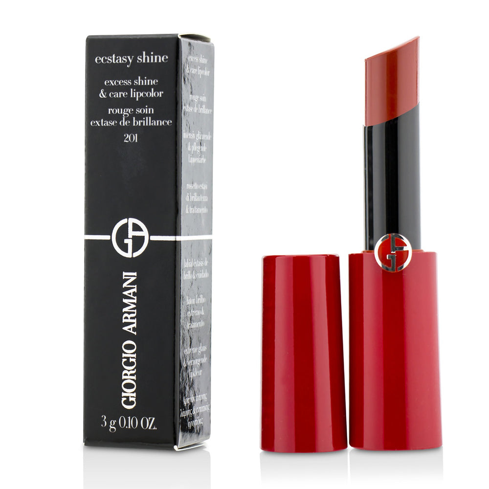 Ecstasy Shine Excess Shine & Care Lipcolor # 201 Scarlatto 218097