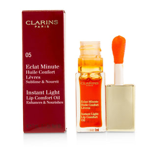 Eclat Minute Instant Light Lip Comfort Oil # 05 Tangerine 218930