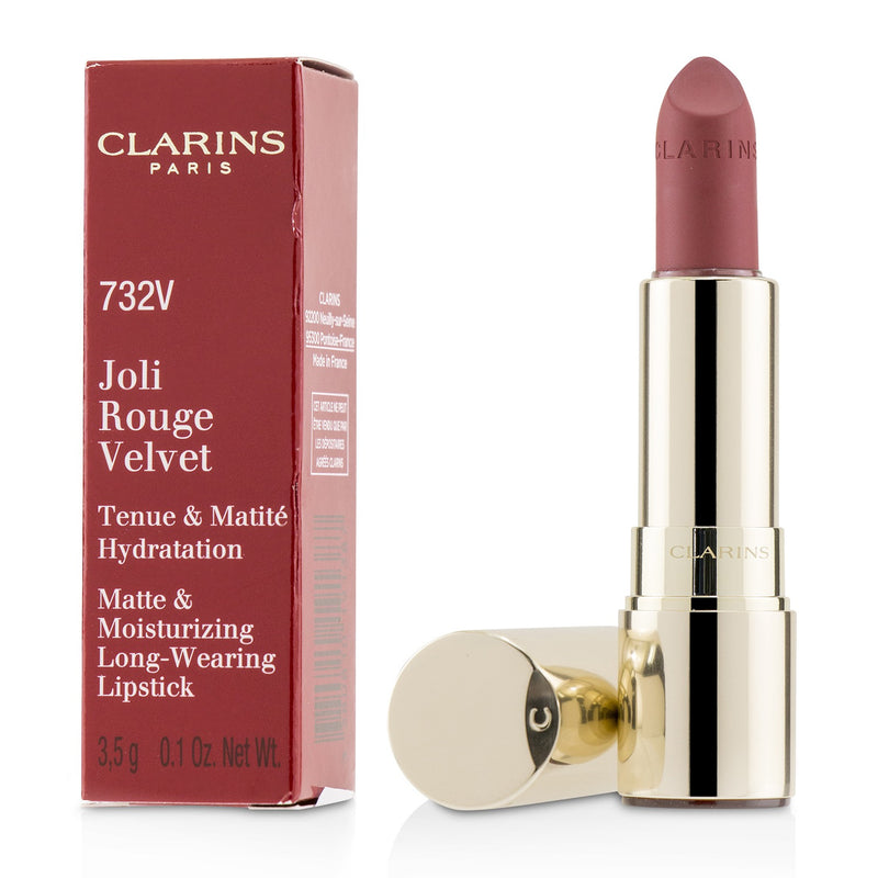 Joli Rouge Velvet (Matte & Moisturizing Long Wearing Lipstick)