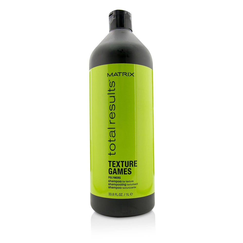 Total Results Texture Games Polymers Shampoo (For Texture)