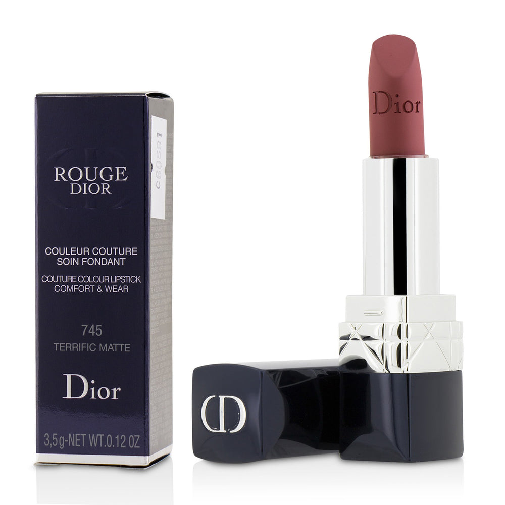 Rouge Dior Couture Colour Comfort & Wear Matte Lipstick   # 745 Terrific Matte