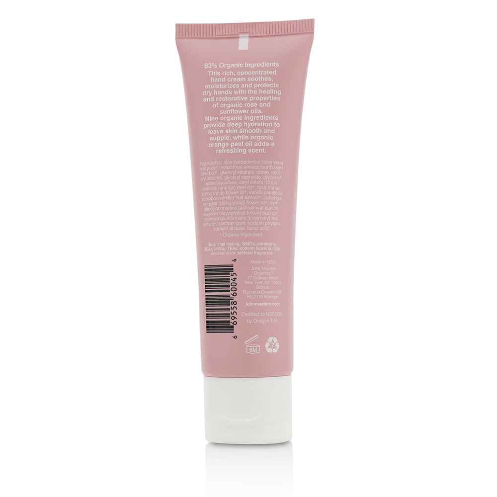 Orange & Rose Hand Cream