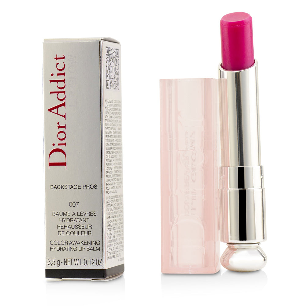 Dior Addict Lip Glow Color Awakening Lip Balm #007 Raspberry 220370