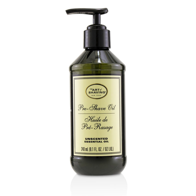 Pre Shave Oil Unscented (With Pump) 220430
