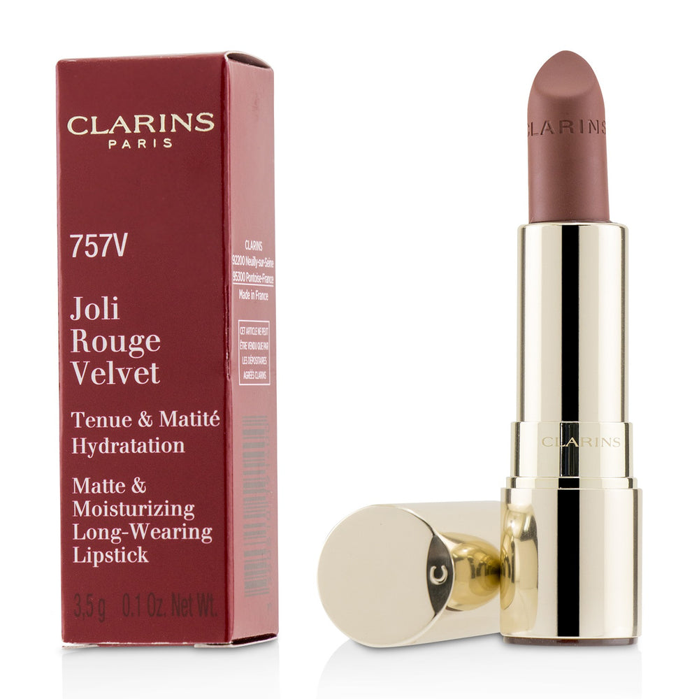 Load image into Gallery viewer, Joli Rouge Velvet (Matte & Moisturizing Long Wearing Lipstick)   # 757 V Nude Brick