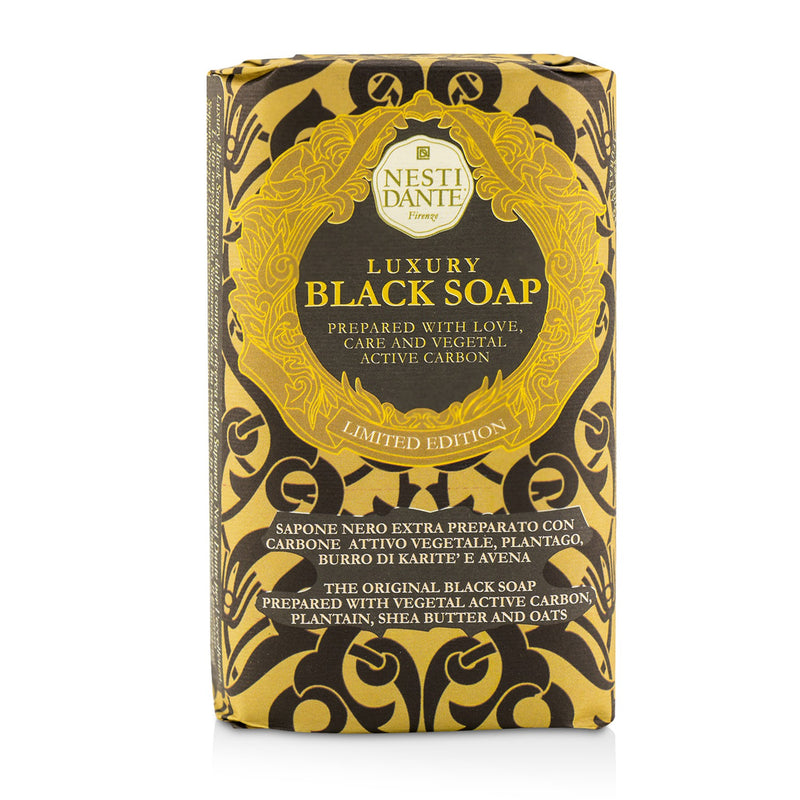 Luxury Black Soap With Vegetal Active Carbon (Limited Edition) 221047