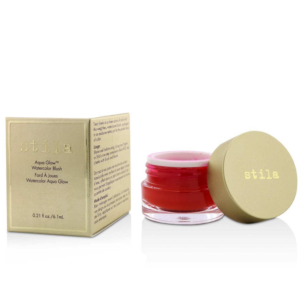 Aqua Glow Watercolor Blush   # Water Poppy